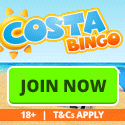 Winter Warmers At Costa Bingo