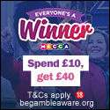 Free £10 from Mecca Bingo